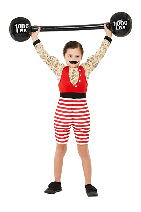 Smiffys 52168M - Disfraz de niño fuerte, multicolor, talla M, 7-9 ...