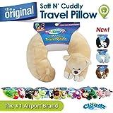 Cloudz Plush Animal Pillows - Bear