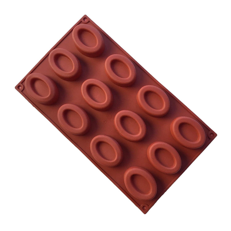 MKNzone 1 moldes de silicona DIY, tartas, chocolate - Mini donuts ...