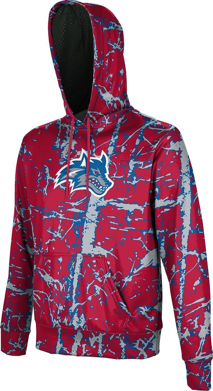 ProSphere Stony Brook University Boys Hoodie Sweatshirt Distressed