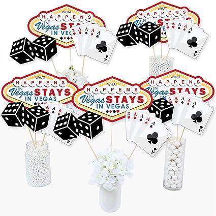 Excellent Las Vegas Casino Party Centerpiece Sticks Table Toppers Set Of 15 Interior Design Ideas Helimdqseriescom