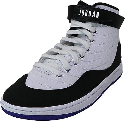 Jordan Mens Jordan KO 23 Leather Hight Top Lace Up Basketball Shoes