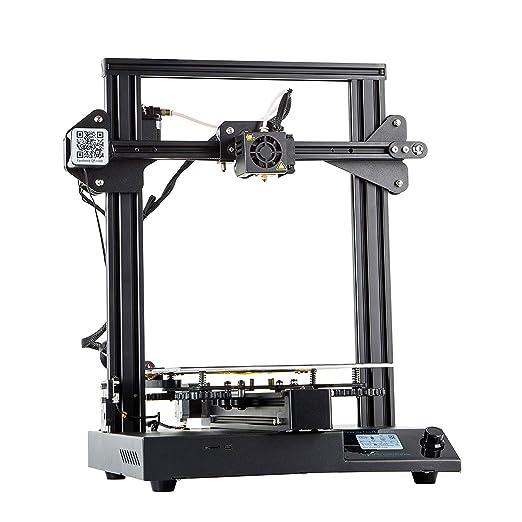 QinLL Impresora 3D, Metal Completo Semi ensamblado con tamaño de ...
