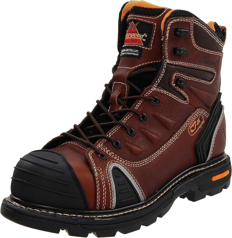 0e7f2553e52 Thorogood Men's GEN-FLEX 6-Inch Lace-Toe Composite Work Boot