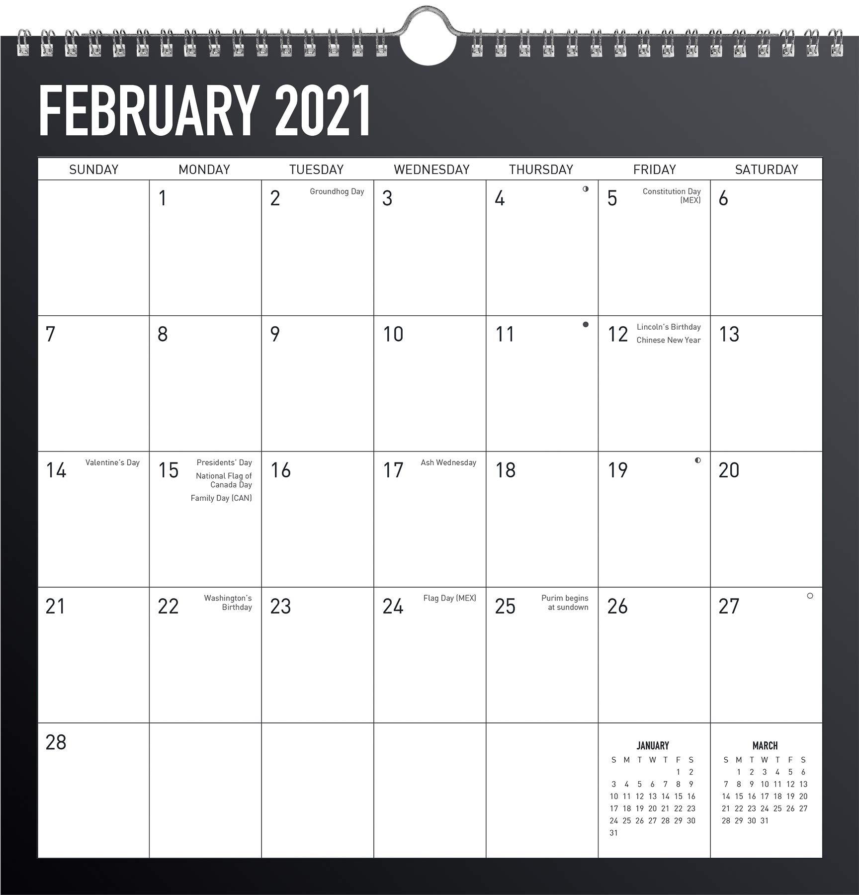 2021 Spiral Calendar Photos