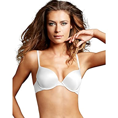 e7a01b5b1c638 Image Unavailable. Image not available for. Color  Maidenform Womens Custom  Lift Tailored Demi T-Shirt Bra(09729)-White-