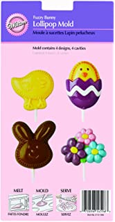 Wilton Fuzzy Bunny Lollipop Candy Mold