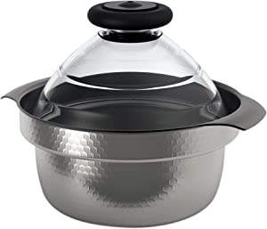 HARIO See Through Lid, One Size, Transparent