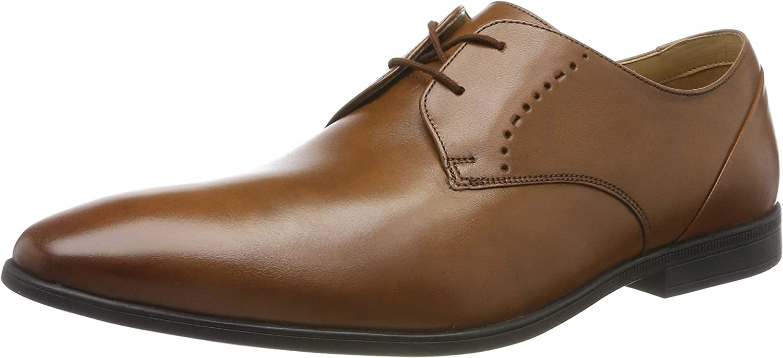 Clarks Bampton Lace, Zapatos de Cordones Brogue para Hombre
