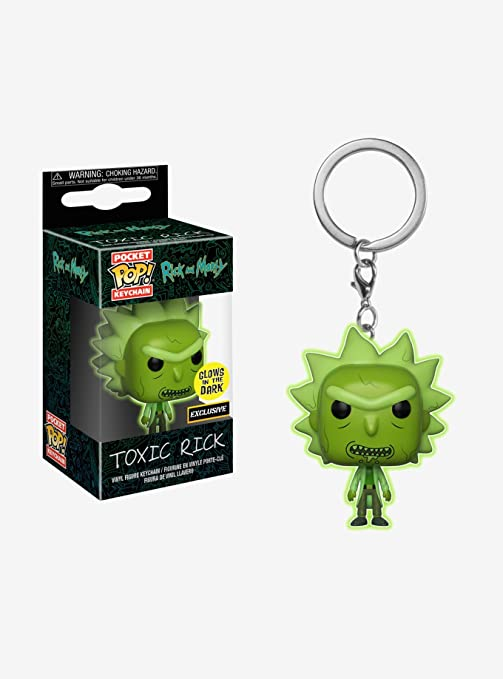 Funko – Rick and Morty Idea Regalo, Llavero, collezionabili, Comics, Manga, Serie TV, Multicolor, 32044
