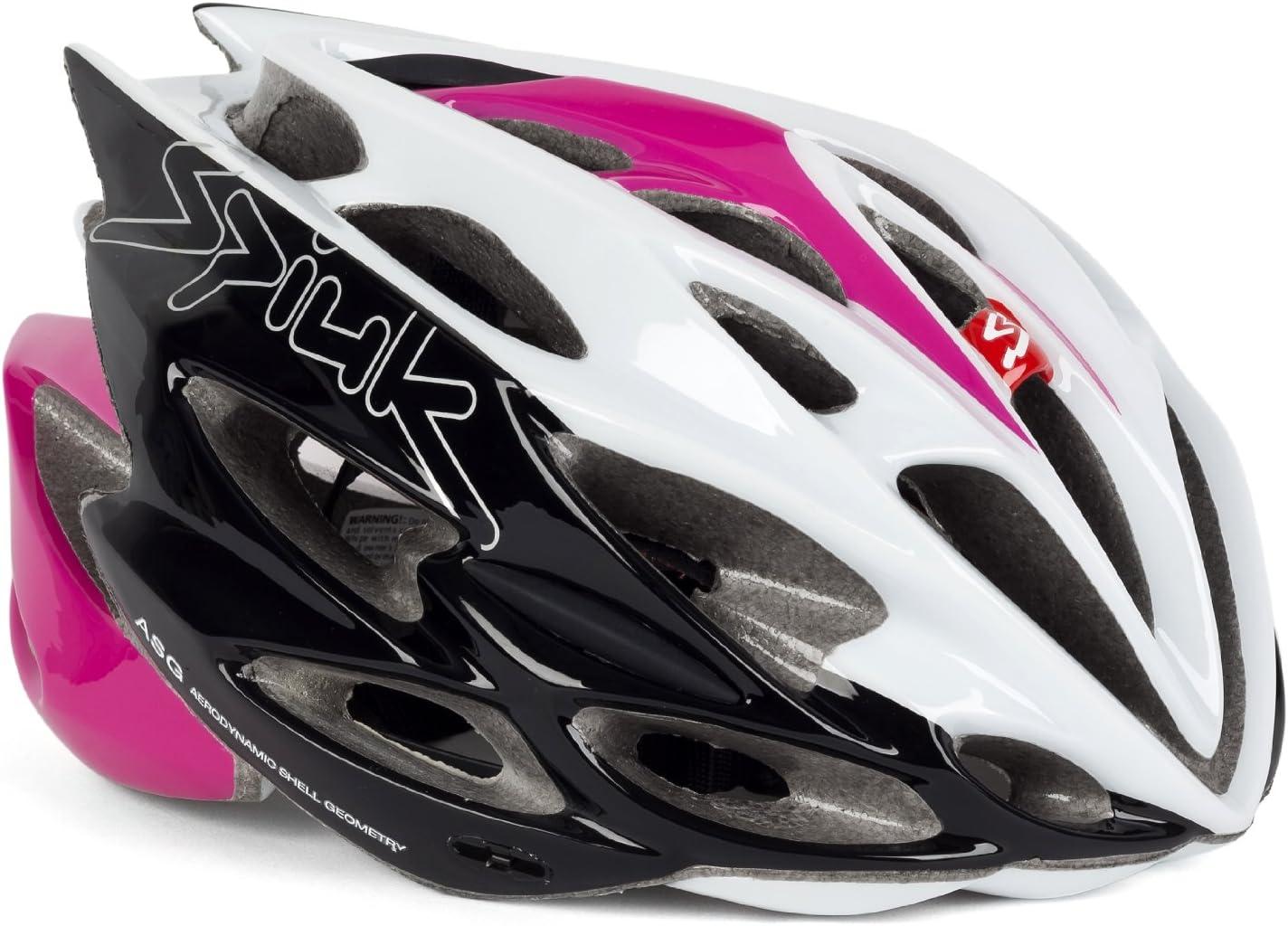 Spiuk Nexion - Casco de ciclismo, color fucsia / blanco / negro ...