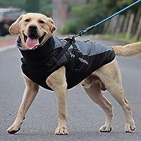 N / A Perro Mascota Ropa De Otoño E Invierno Ropa Impermeable para Perros Grandes Cuello Peludo De Invierno Ropa Cálida…