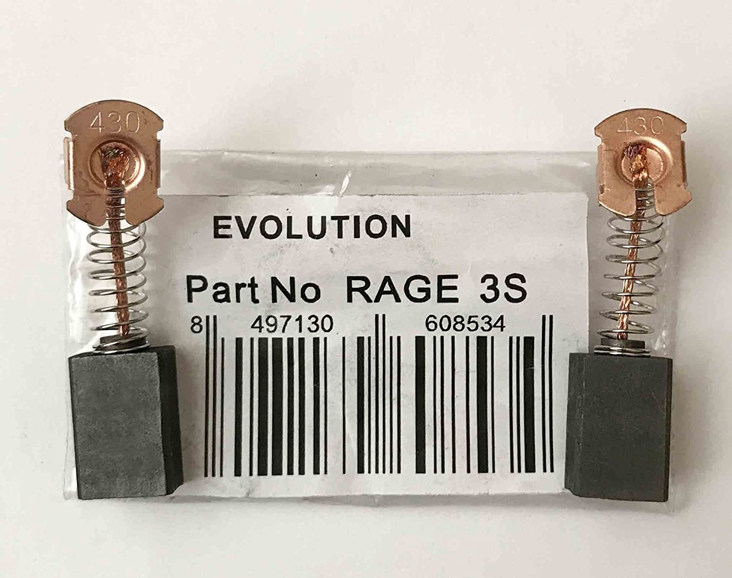 OTOTEC Replacement Part Power Tool Carbon Brushes For Evolution Rage 3 Electric Drill Motor