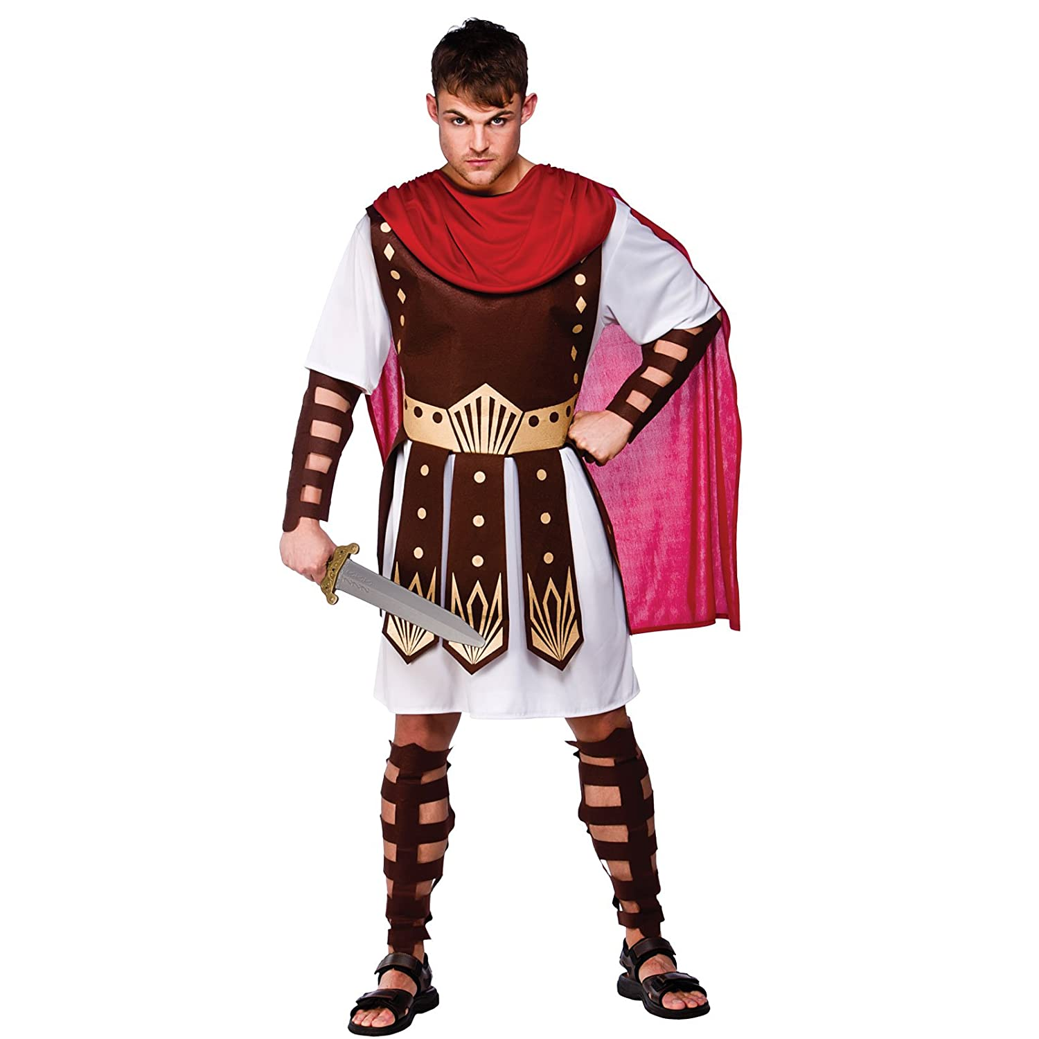 Mens Roman Medieval Centurion Soldier Gladiator Halloween Fancy Dress Costume Amazon.co.uk Toys u0026 Games  sc 1 st  Amazon UK & Mens Roman Medieval Centurion Soldier Gladiator Halloween Fancy ...