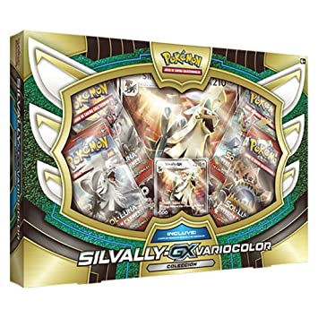 Pokemon JCC- Caja Colección Silvally Gx Varioclor, Español (The Pokemon Company International POGX1706)