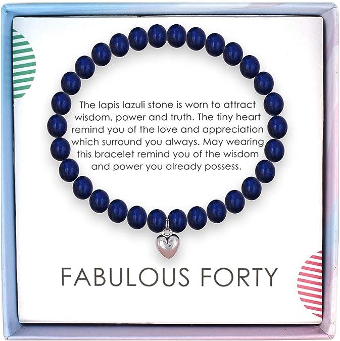 1979 Penny Bracelet 40th Birthday Gift Ideas 1979 Penny Labradorite Beads 40th Anniversary Gifts Coin Handmade Women Bracelet