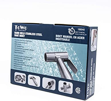 Towo By Toolway 188040 Hand Held Bidet Cold Water Only Bidet Attachments Amazon Canada