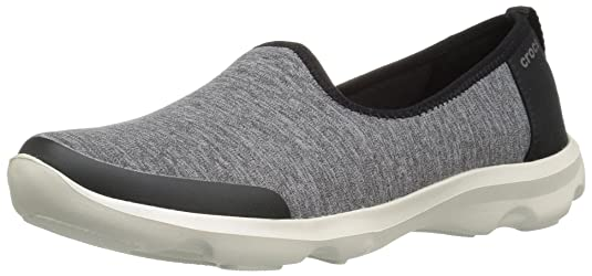 Crocs Women's Busy Day Heather Skimmer Flat <span at amazon
