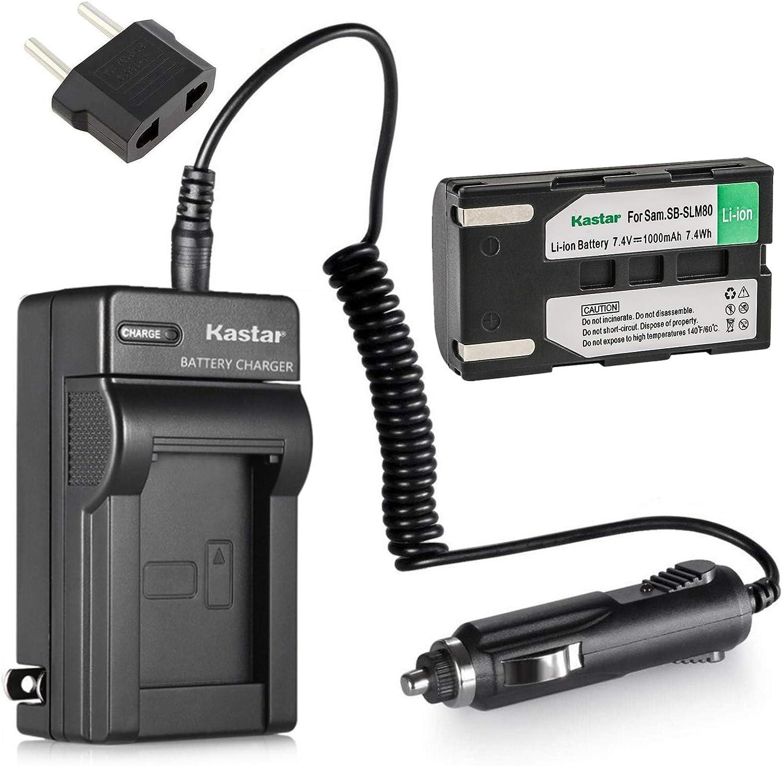 Charger for Samsung SC-DC171 SC-DC173U SC-DC173 Battery SC-DC175 Digital Camcorder