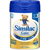 Abbott Similac Gain 2'-FL Stage 3 Toddler Milk Formula, 1 year onwards, 850g