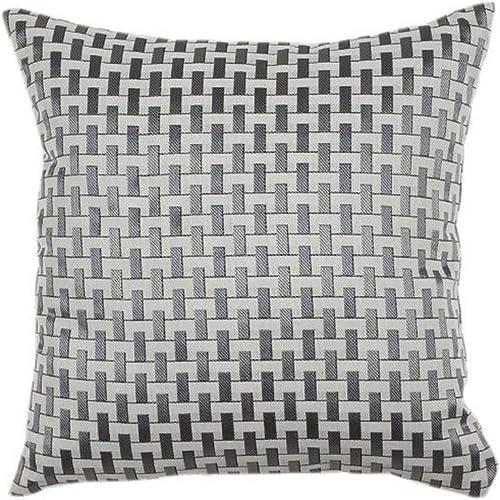 Urban Loft by Westex Soho Cushion, 20 x 20 , Silver Grey