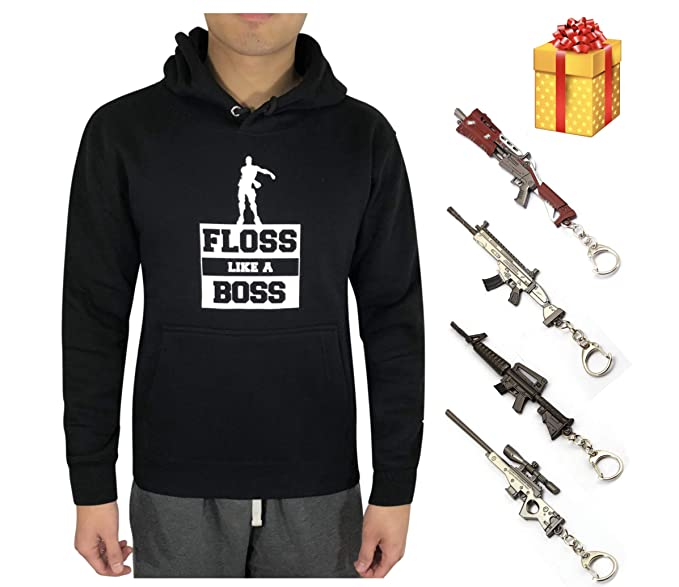 Amazon.com: Floss Like A Boss Sudadera con capucha para ...