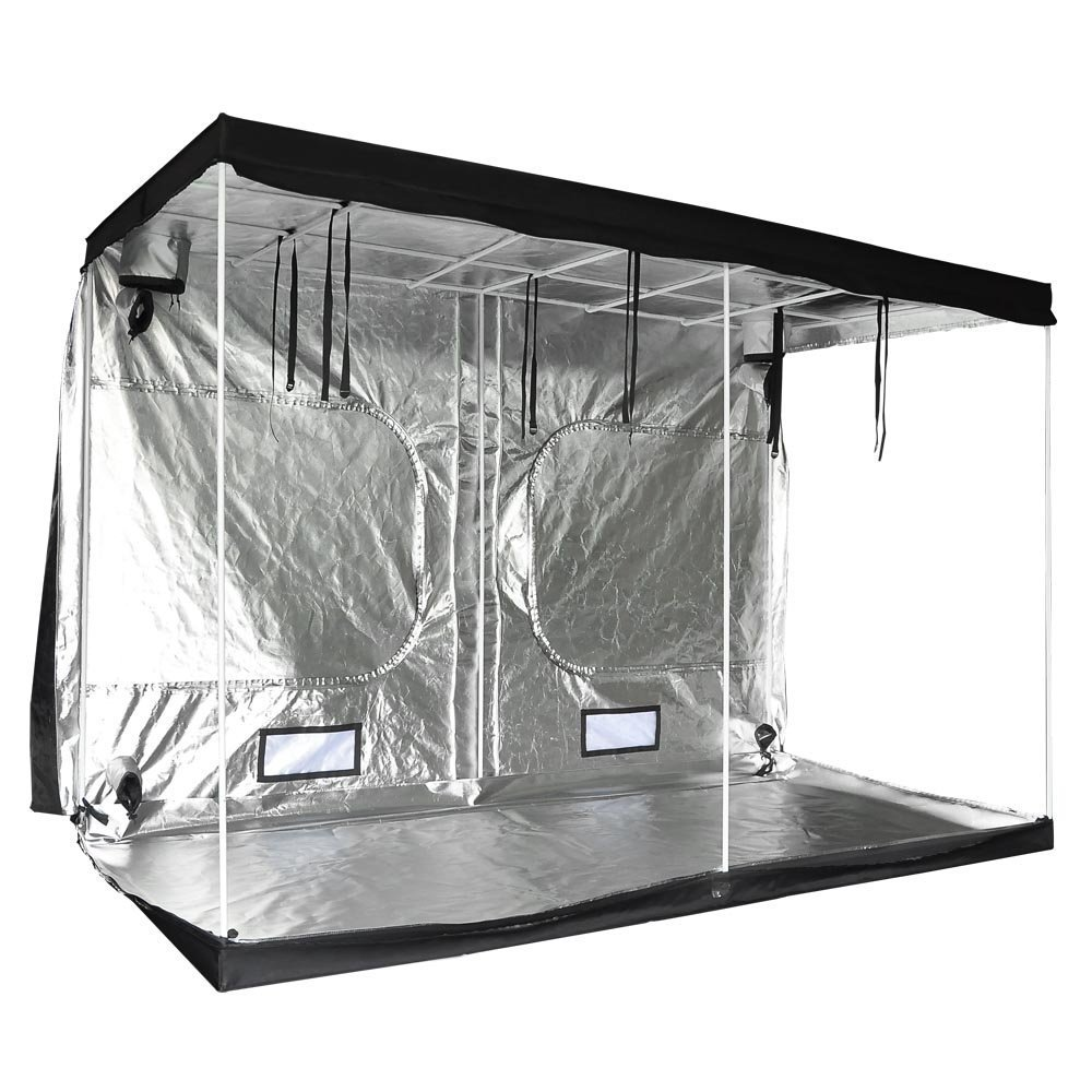 118x60x78 Inches 352 lbs Capacity Large Door Hydroponics Interior Mylar Reflective Grow Tent Cover w/ Metal Rods Frame & 600D Oxford Cloth for Indoor Garden Plant Growing by Generic (Image #4)