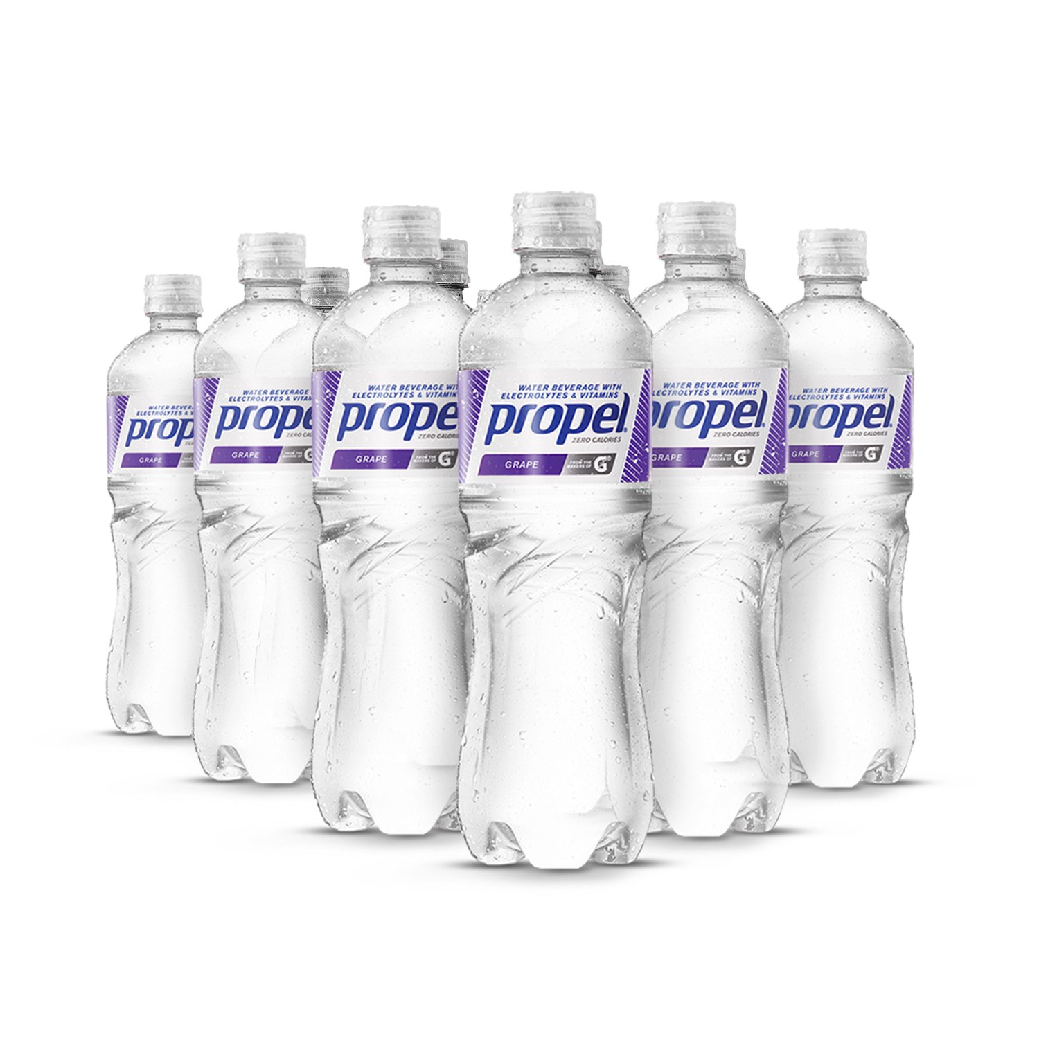 30302c97c3 Propel, Grape, Zero Calorie Sports Drinking Water with Electrolytes and  Vitamins C&E, 16.9 Ounce... by Propel
