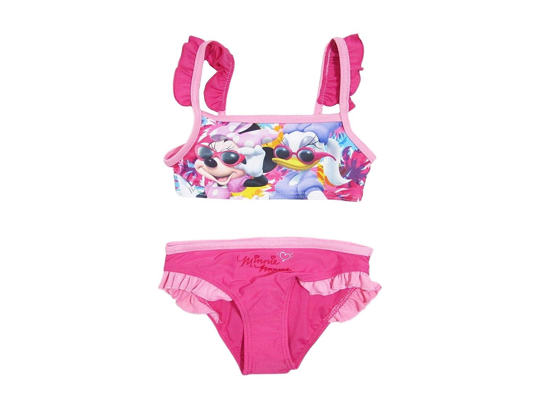 5401513c08 Disney Costume da Bagno Bambina Minnie Mouse Mare e Piscina, Bikini Bimba -  1731: Amazon.it: Abbigliamento
