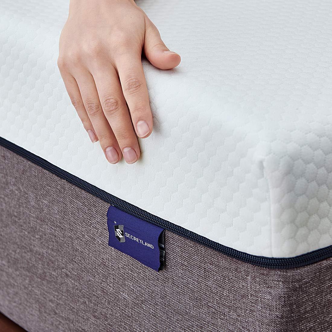 Queen Mattress, Ssecretland 10 inch Gel Memory Foam Mattress with CertiPUR-US Certified Foam, Firm Feels | Bed Mattress in a Box, [Mattress Only] 10-Year Warranty - Queen Size by Ssecretland (Image #6)