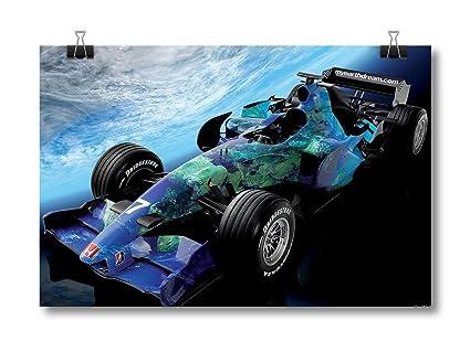 Honda Racing Car   Formula One Car Racing Poster (Print Avenues ID   PL0919)