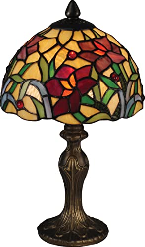 Dale Tiffany TA15087 Teller Tiffany Accent Table Lamp