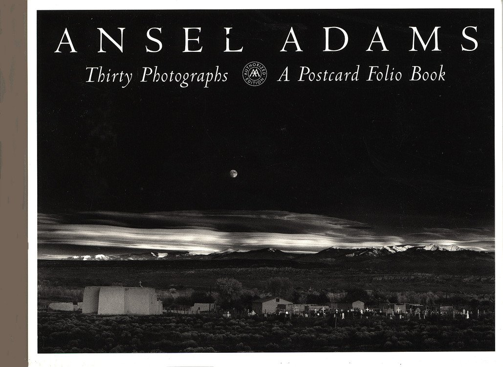 ansel adams california a postcard folio book ansel adams postcard folio series