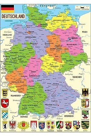Carte Allemagne Lander.Puzzle Michele Wilson Puzzle Carte D Allemagne Lander