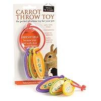 Carrot Throw Rabbit Toy