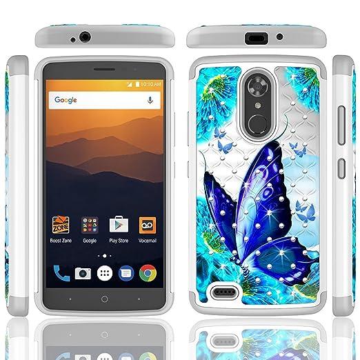 Amazon.com: ZTE MAX XL Case (Sprint, Boost Virgin Mobile) ZTE Max ...
