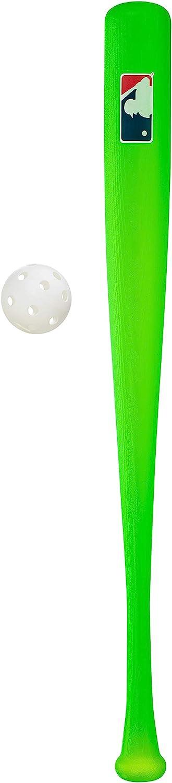 "Franklin Sports MLB 30"" Authentic Plastic Bat & Ball Set - Green : Sports & Outdoors"