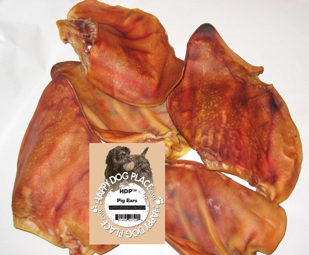 Pig Ears Natural Dog Case of 100