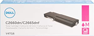 Dell V4TG6 Toner Cartridge C2660dn/C2665dnf Color Laser Printer,Black