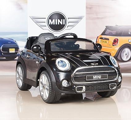 Amazon Com Bigtoysdirect 12v Mini Cooper Kids Electric Ride On Car