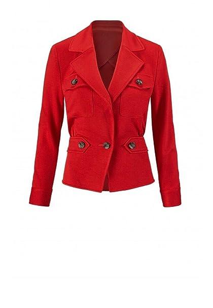 Amazon.com: Chaqueta para mujer ROJO: Clothing
