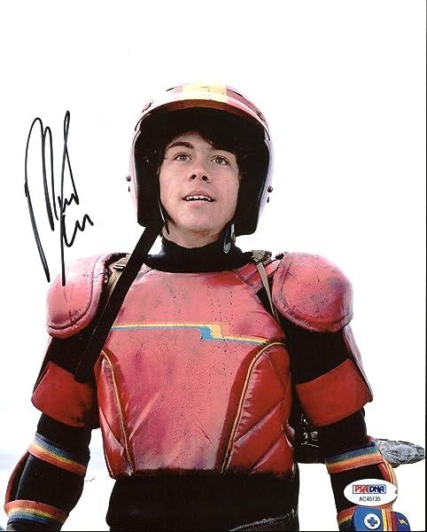 Munro Chambers Turbo Kid Signed 8X10 Photo #AC45135 PSA/DNA Certified