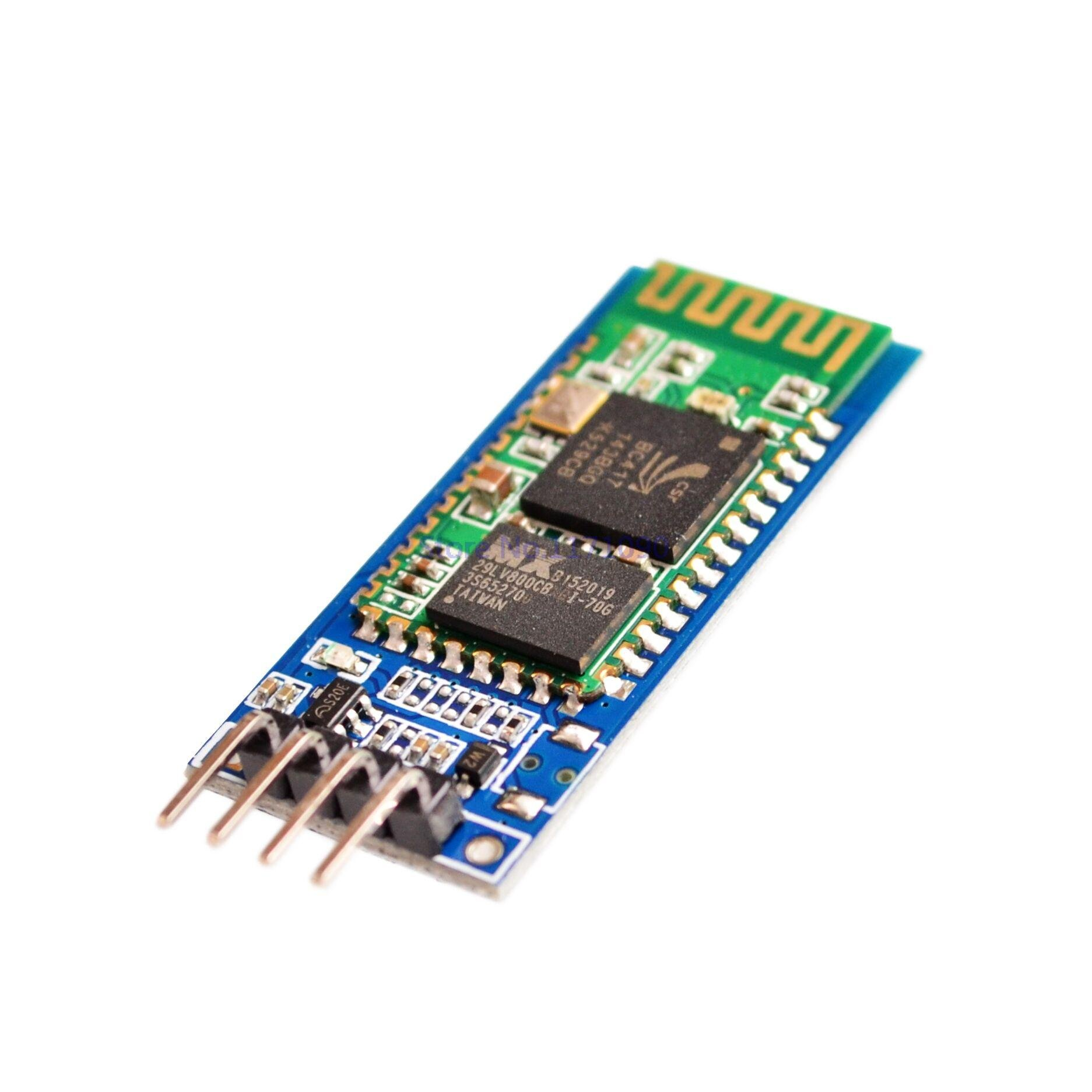 SuperiParts 20sets/lot HC-06 Wireless Serial 4 Pin Bluetooth RF Transceiver Module RS232 TTL for Arduino + Shipment