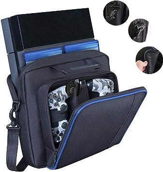 DERCLIVE Bolsa de Viaje Multifuncional Bolsa de Viaje para Consola Sony Playstation 4 Ps4 Negro: Amazon.es: Deportes y aire libre