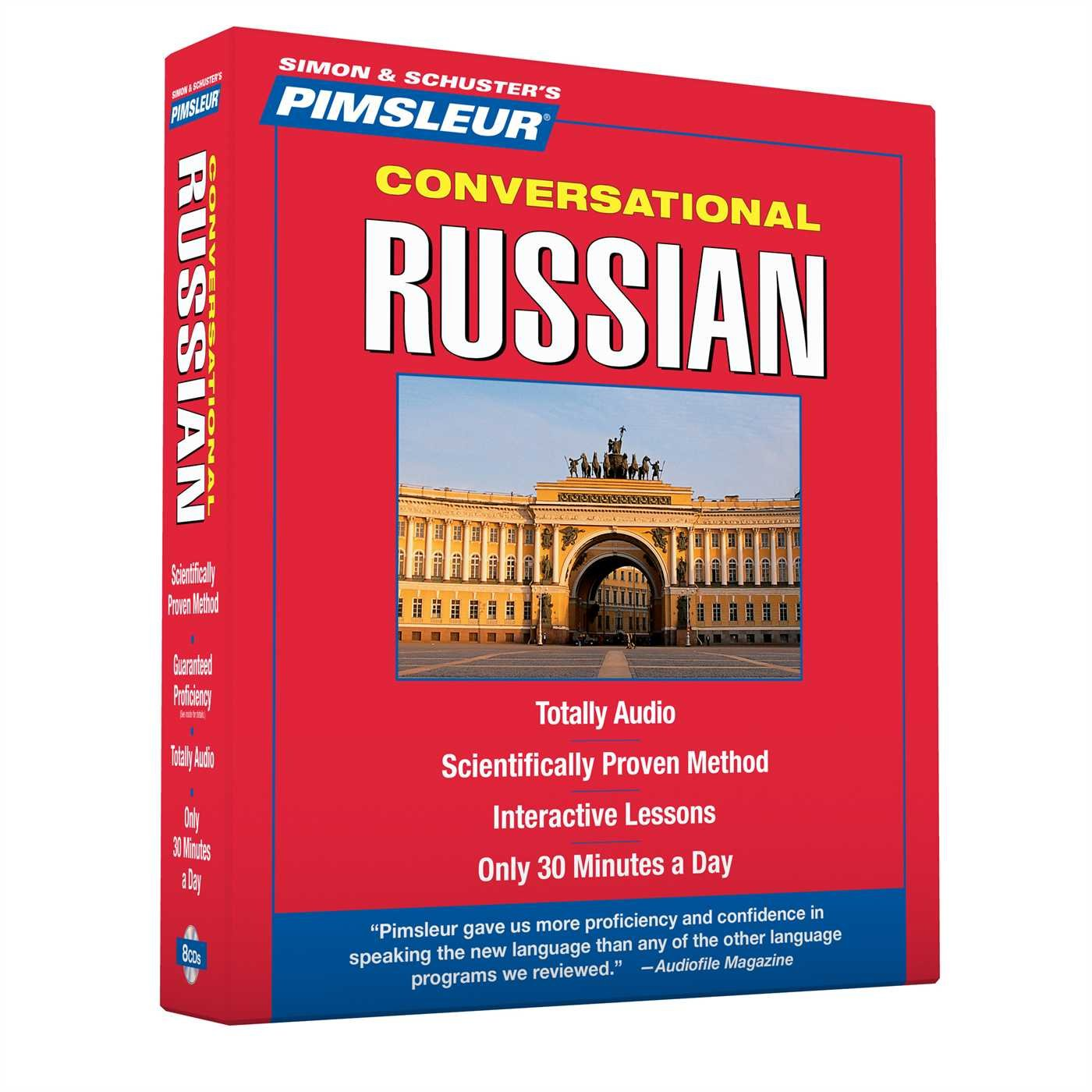 Pimsleur Russian Conversational Course Understand product image