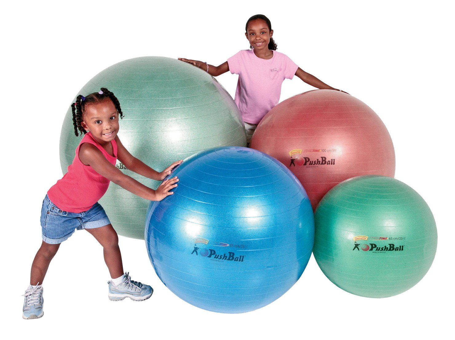 Sportime Ultimax Pushball Therapy Ball - 26 Inches - Green
