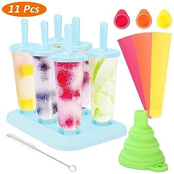 Aimtop Eisformen Stieleisformer 6 Stück Eis Am Stiel Formen Und 3