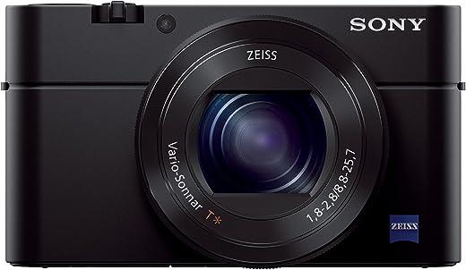 Sony Cybershot 20.1MP Point & Shoot Digital Camera with Bag DSC-RX100M3