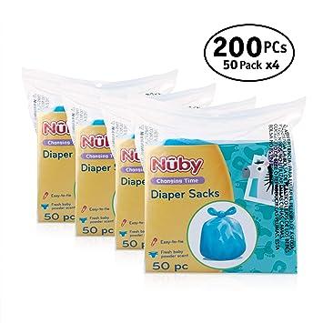 Amazon.com: Nuby bolsas de pañales: Baby