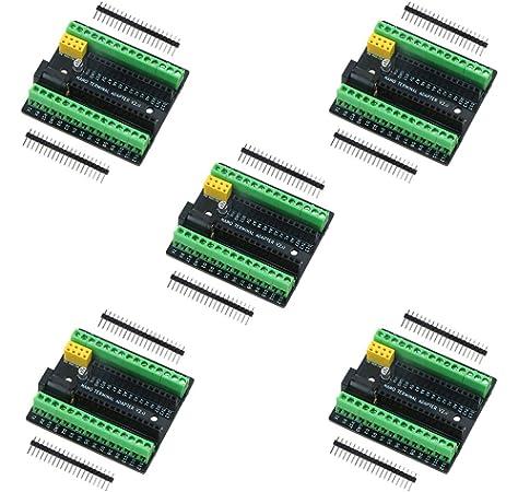 DFRobot Nano I/O Shield for Arduino Nano: Amazon.es: Electrónica